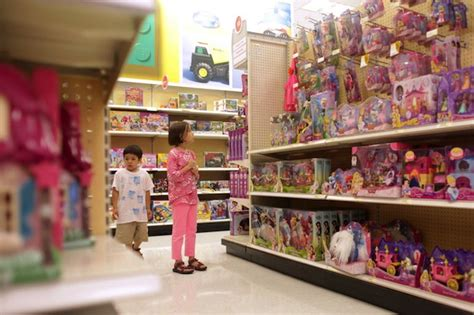 toy section the paw print target goes gender neutral
