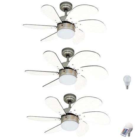 beleuchtung raum luxus deckenventilator rgb led fernbedienung beleuchtung