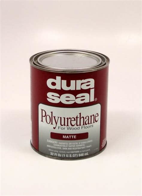 Dura Seal Matte Oil Based Polyurethane for Hardwood Floors