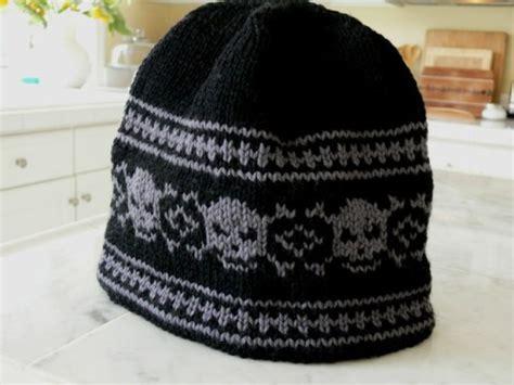 knitted skull hat pattern free skull hat knitting pattern sorella company