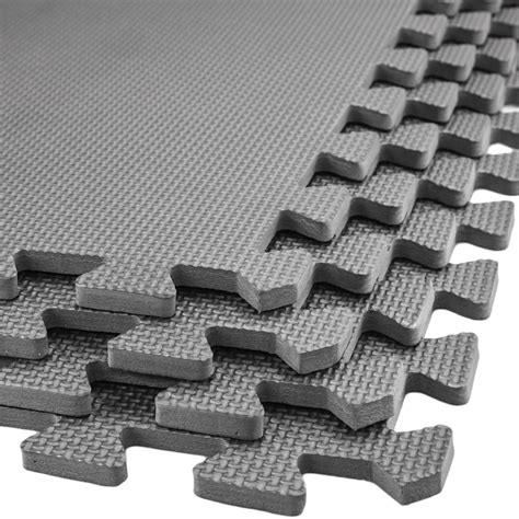 eva soft foam floor mats interlocking gym kids exercise play mat office garage ebay