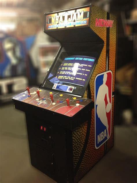 Nba Jam Cabinet nba jam arcade vintage arcade superstore