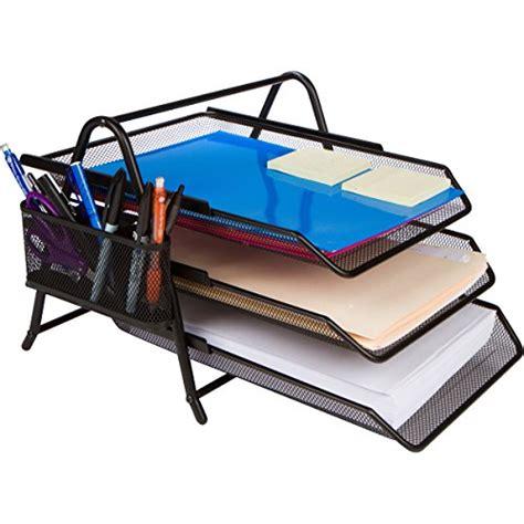 under desk paper tray 3 tier letter tray organizer desktop document paper file