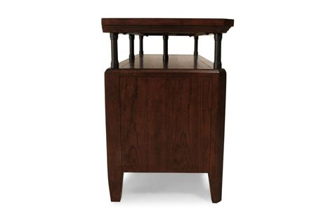 park console broyhill estes park console table mathis brothers furniture