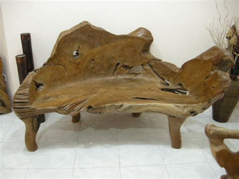 teak root bench indogemstone teak root furniture