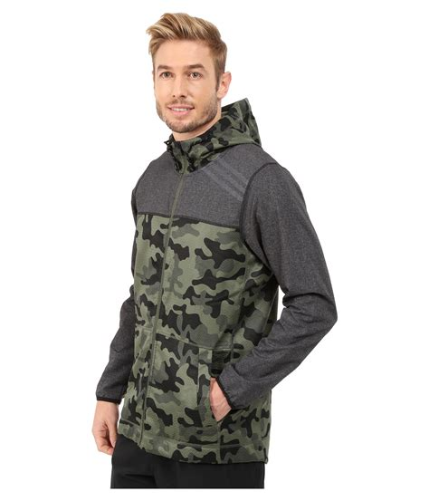 Jaket S1 adidas s1 indestructible camo jacket in green for lyst