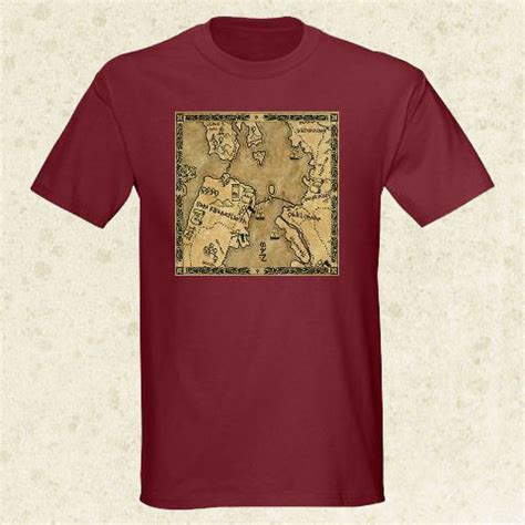 san francisco map shirt rpg gaming t shirts