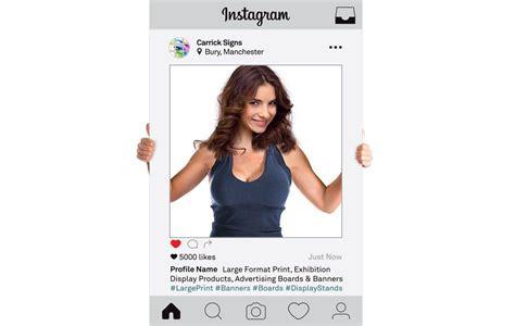 Instagram Photo Frame Selfie Frame Printing Photo Props