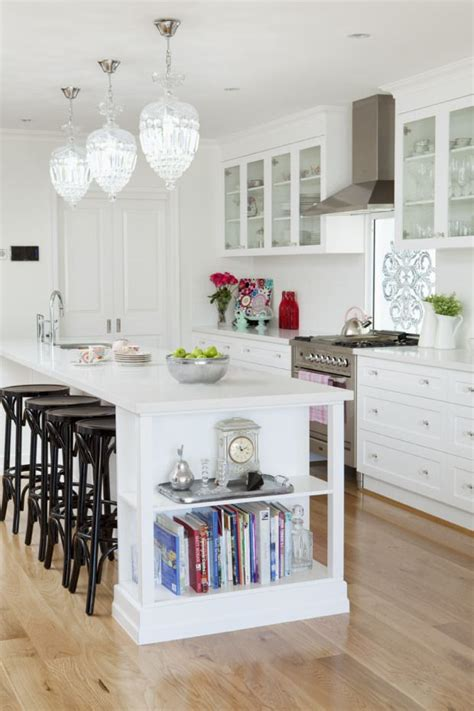 kitchen island with shelves kitchen island with built in shelves home style
