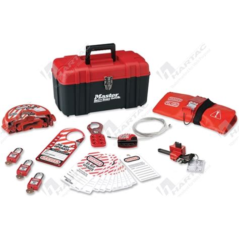 Masterlock 1458ve410 Lockout Kits lockout kits and stations master lock personal lockout kit company name hartac australia