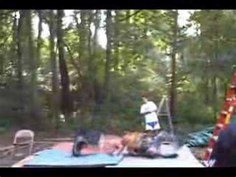 backyard wrestling injuries backyard wrestling injury fall off a sixteen foot ladder