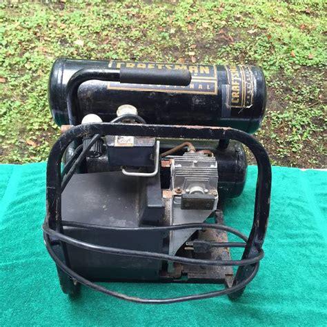 craftsman  hp twin tank  gallon  psi professional