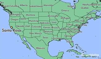 of california santa map where is santa rosa ca where is santa rosa ca located
