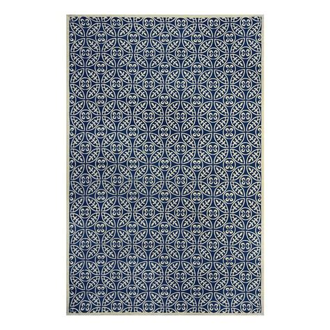 Navy Blue Area Rug 8x10 Shop Allen Roth Maysburg Navy Rectangular Indoor Machine Made Area Rug Common 8 X 10 Actual