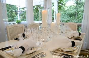 Elegant Table Settings elegant candlelit summer tablescape table setting