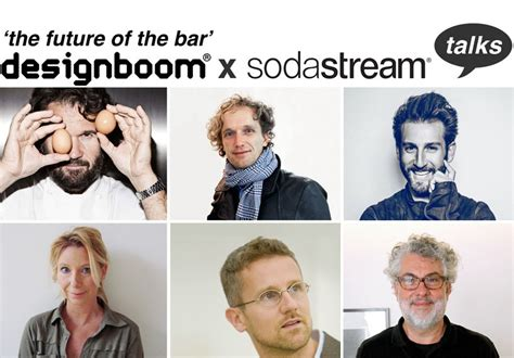 Designboom X Sodastream Talks | designboom x sodastream talks during milan design week