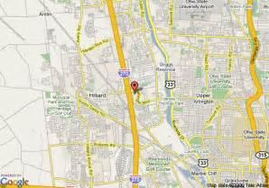 Hilliard Ohio Map by Map Of Comfort Suites Hilliard Hilliard