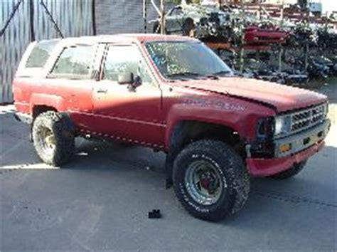 89 Toyota Parts 89 Toyota 4 Runner Used Parts Rancho Toyota Truck Parts