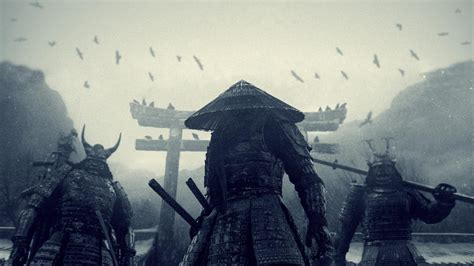 ninja warrior on the l hd desktop wallpaper wallpapers samurai wallpaper cave