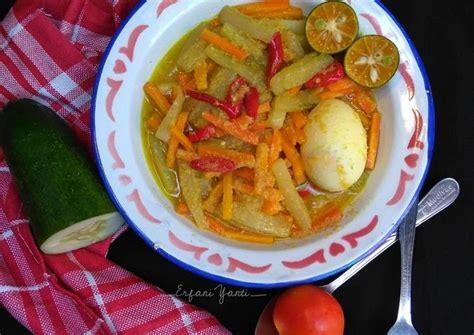 acar kuning timun wortel resep resep masakan  sayuran