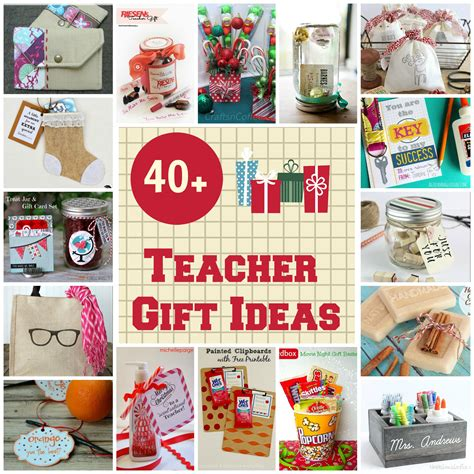 40 gift ideas for teachers organize and