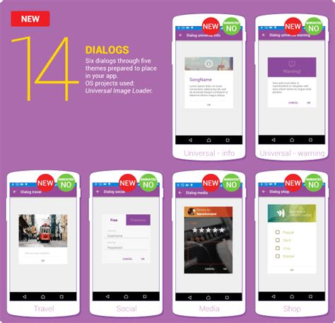 android layout template download material design ui android template app by creativeform