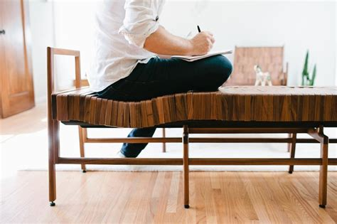 wood block bench unique wood bench that will follow the shape of your body block bench home