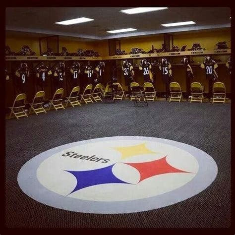 Steelers Locker Room by Steelers Locker Room Pittsburgh Steelers