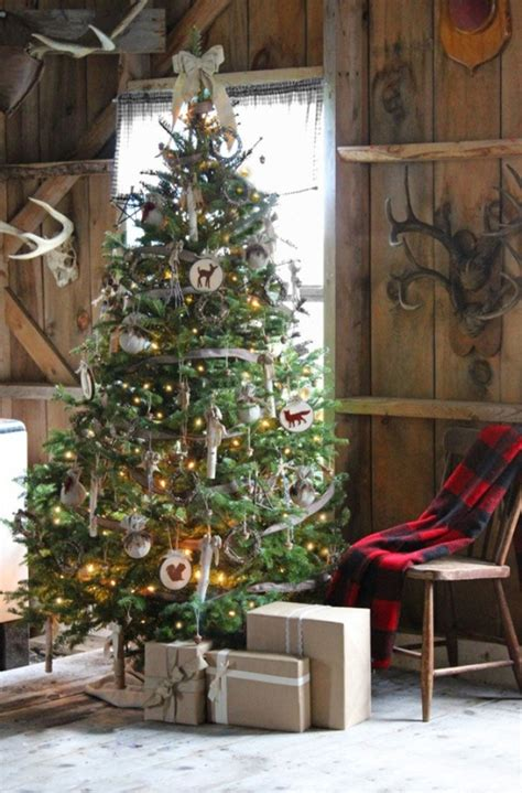 30 rustic christmas decorations ideas you can build