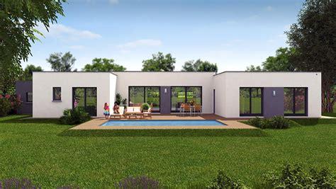 Plan De Maison Design by Maison Design Plain Pied Maison Design Apsip