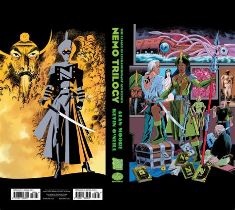 league of extraordinary gentlemen nemo trilogy slipcase edition idw publishing