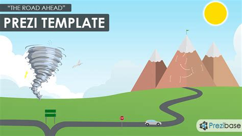 prezi template the road ahead prezi template prezibase