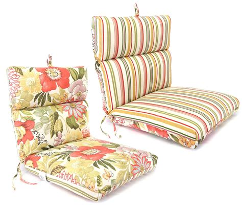 Jordan Manufacturing Co Inc Knife Edge Chair Cushion Kmart Patio Chair Cushions