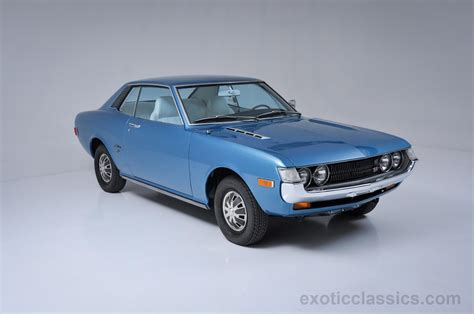 toyota celica check out these two 1970s toyota celica coupes one has