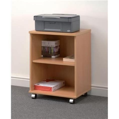 printer storage trexus mobile printer storage stand with 2 adjustable sp635064