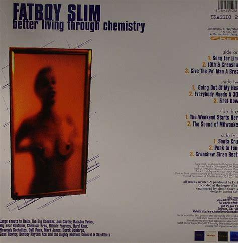 fatboy slim better living through chemistry fatboy slim better living through chemistry vinyl at juno