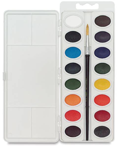 crayola educational watercolor pan sets blick materials