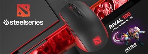 Mouse Steelseries Rival 100 Dota 2 gaming mouse ggpc