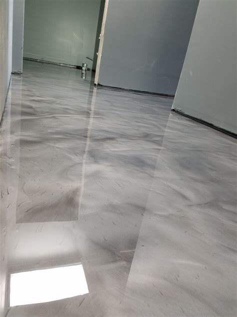 Metallic Epoxy Garage Flooring in Detroit Michigan Area