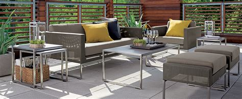 Home Design Outdoor Living Credit Card by Outdoor Patio Furniture Decor Ideas Crate And Barrel