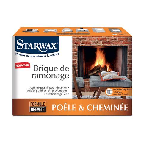 Cheminee Brique by Brique De Ramonage Starwax Produits D Entretien Maison