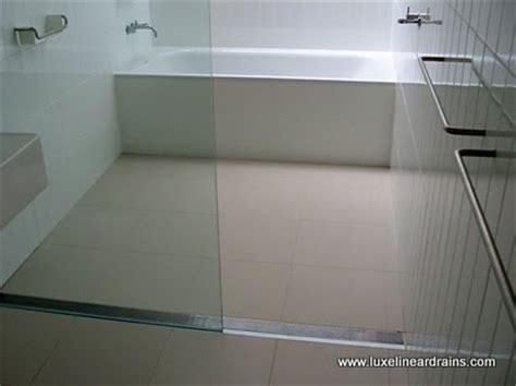 keep bathroom dry drains help make bathroom floors dry safe luxe linear