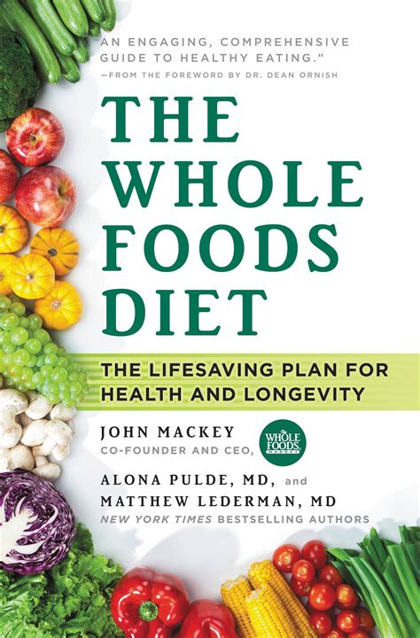 Whole Detox Diet Book by The Whole Foods Diet Hachette Book