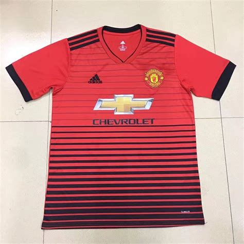 19 new how do you new version of 18 19 season manchester united kit how do