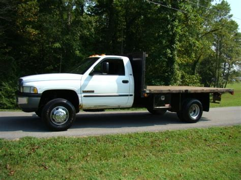 dodge ram 3500 truck bed for sale rv parts 2001 dodge 3500 diesel flat bed 4x4 truck for