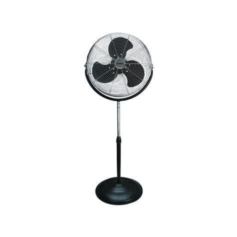 high velocity pedestal fan f 4184 18 quot industrial grade high velocity stand fan shop