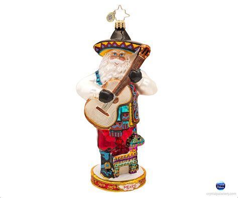 Radko Ornaments - christopher radko viva mexico ornament