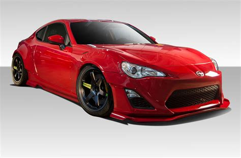 frs scion body kit 13 16 scion frs gt500 duraflex 12 pcs full wide body kit
