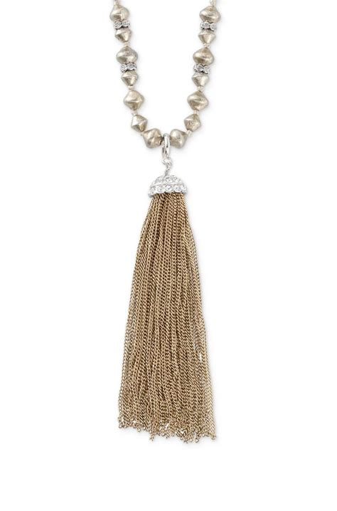 Tassel Necklace stella dot milana tassel necklace just bling it