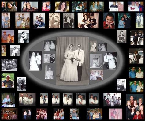 Photo Collage: 25th Anniversary Collage   Gift Ideas for
